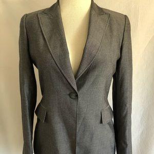 Tahari gray blazer, size 10